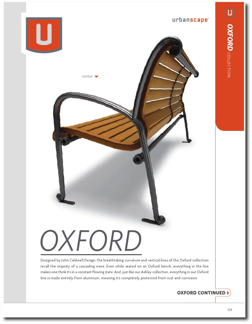 Oxford Collection Catalog Pages