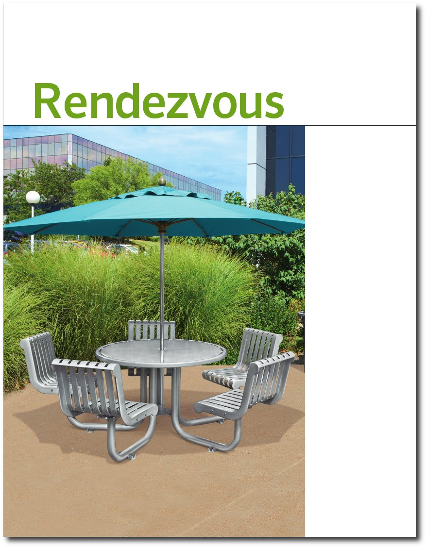 Rendezvous Collection Brochure Cover Page