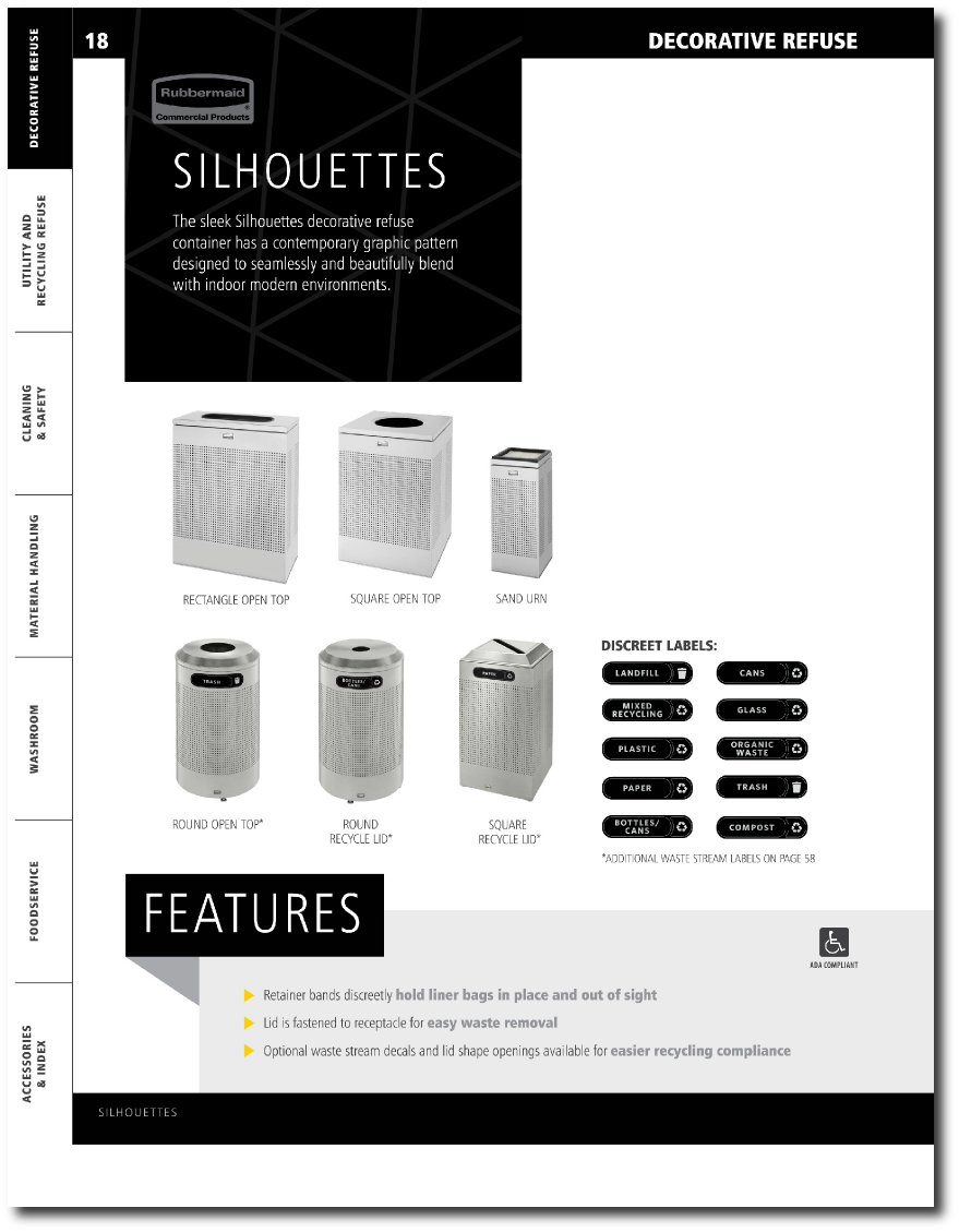 Silhouettes Collection Updated catalog Pages