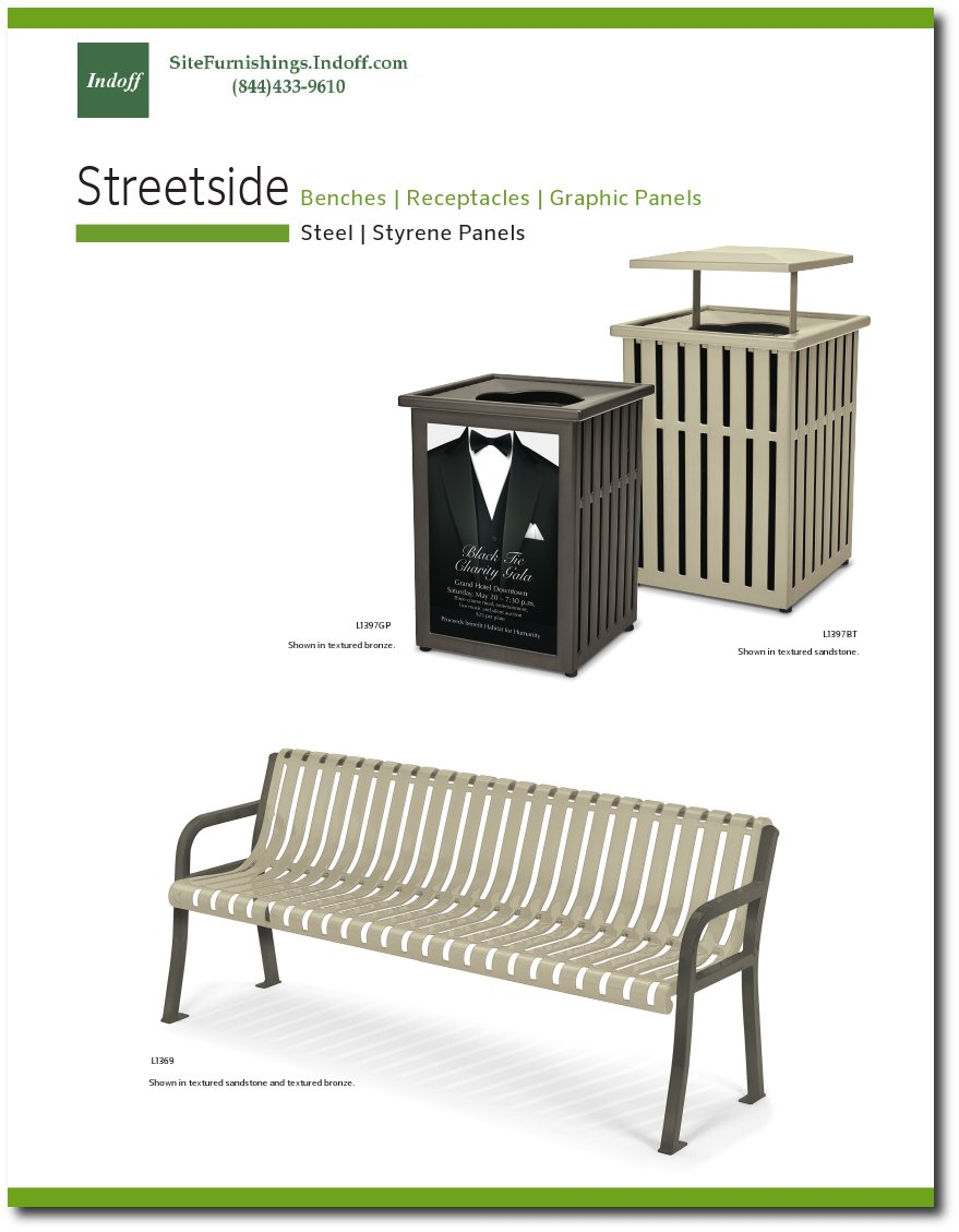 Streetside Collection Catalog Pages