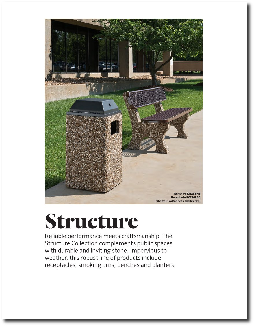 Structure Collection Catalog Pages