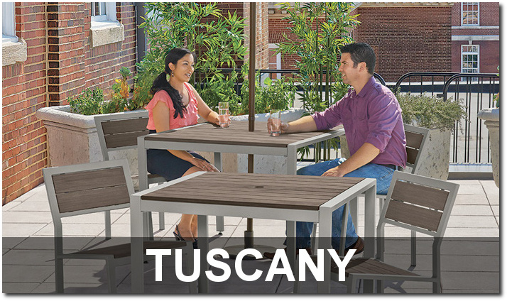 Tuscany Collection Upscale Outdoor Dining Sets