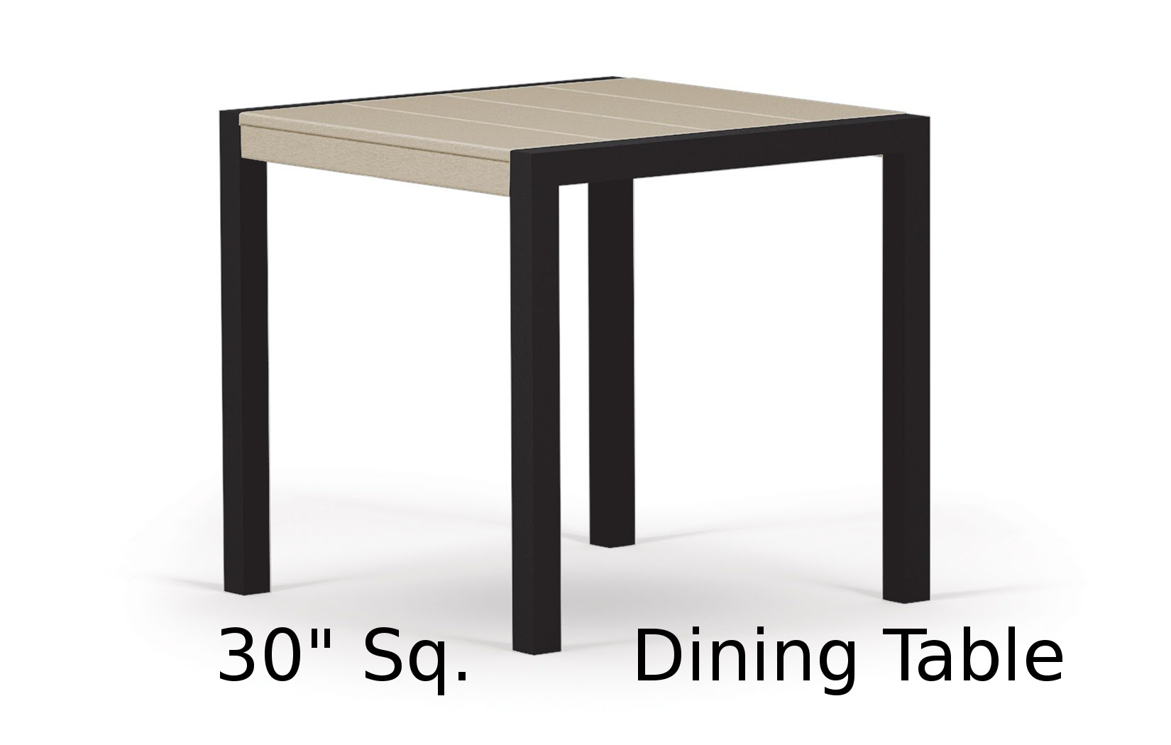 TC8010  Fresco Collection 30 Inch Square Dining Table