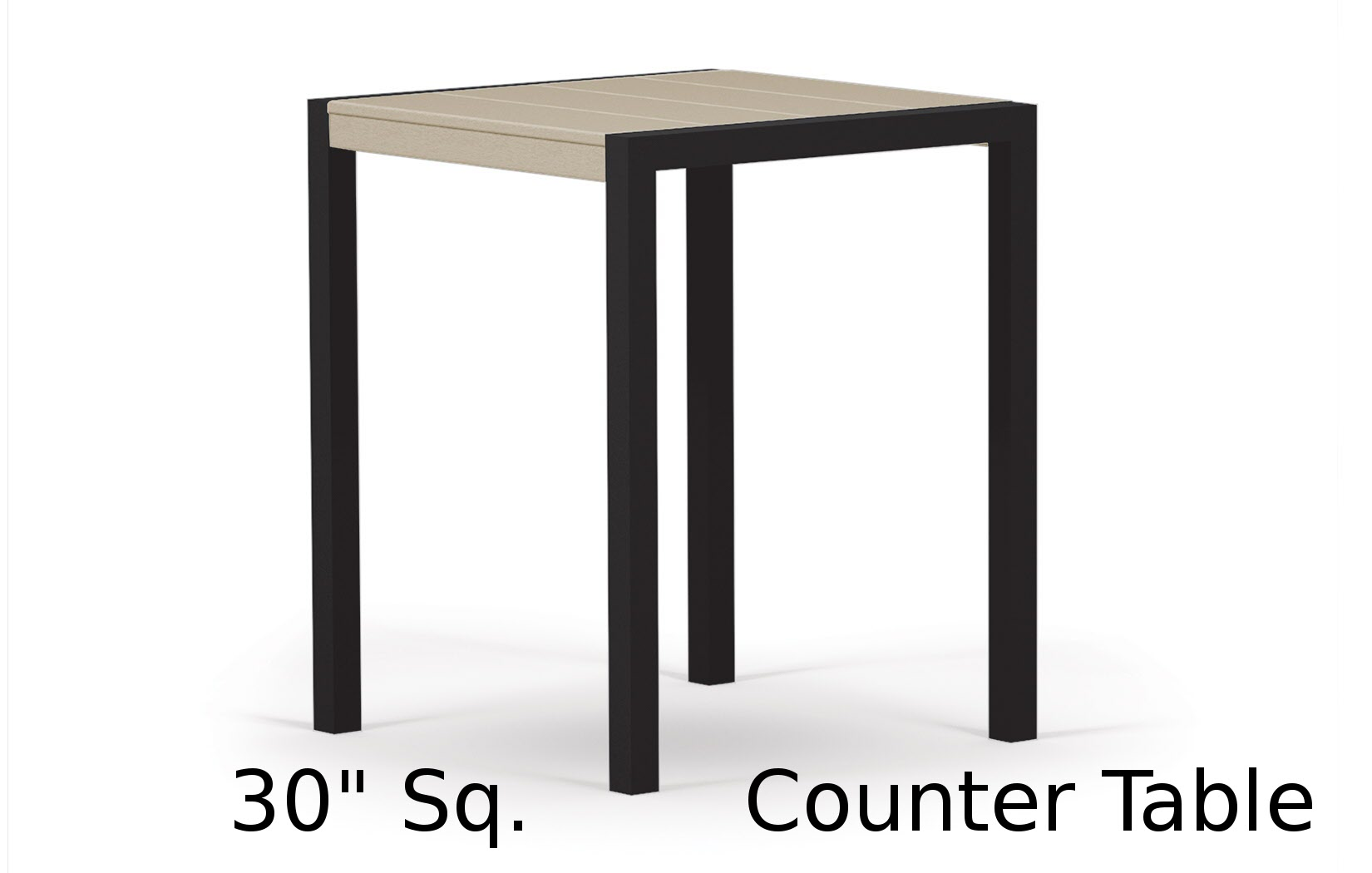 TC8011  Fresco Collection 30 Inch Square Counter Table