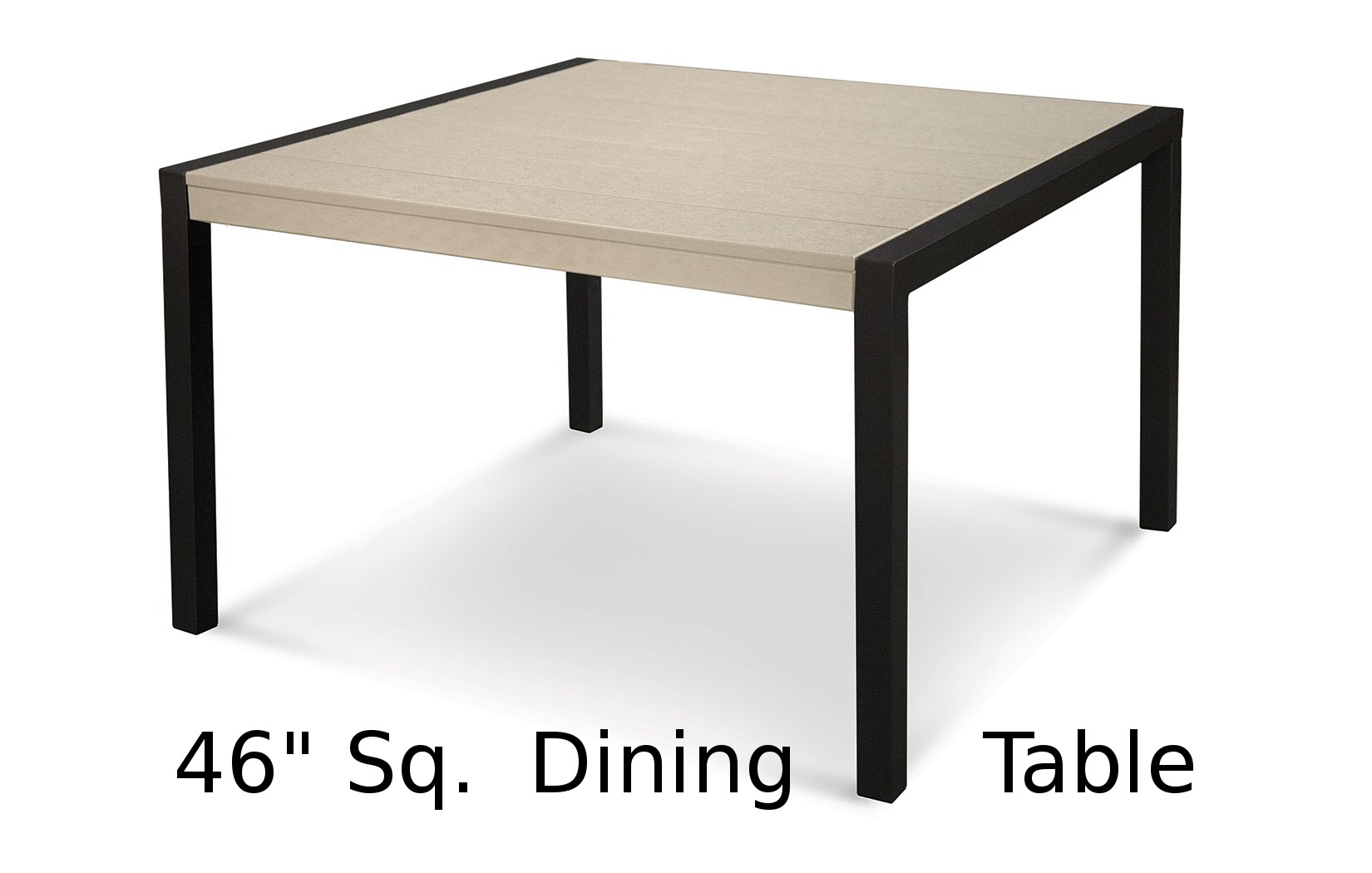 TC8210  Fresco Collection 46 Inch Square Dining Table
