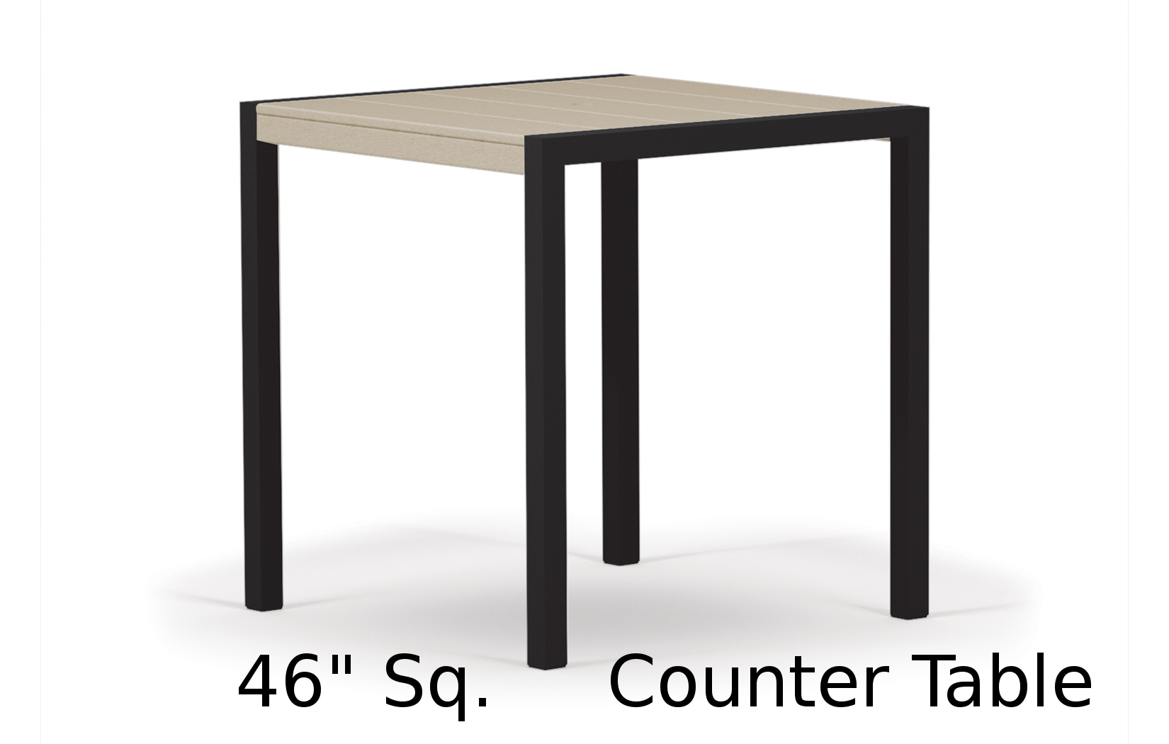 TC8211  Fresco Collection 46 Inch Square Counter Table