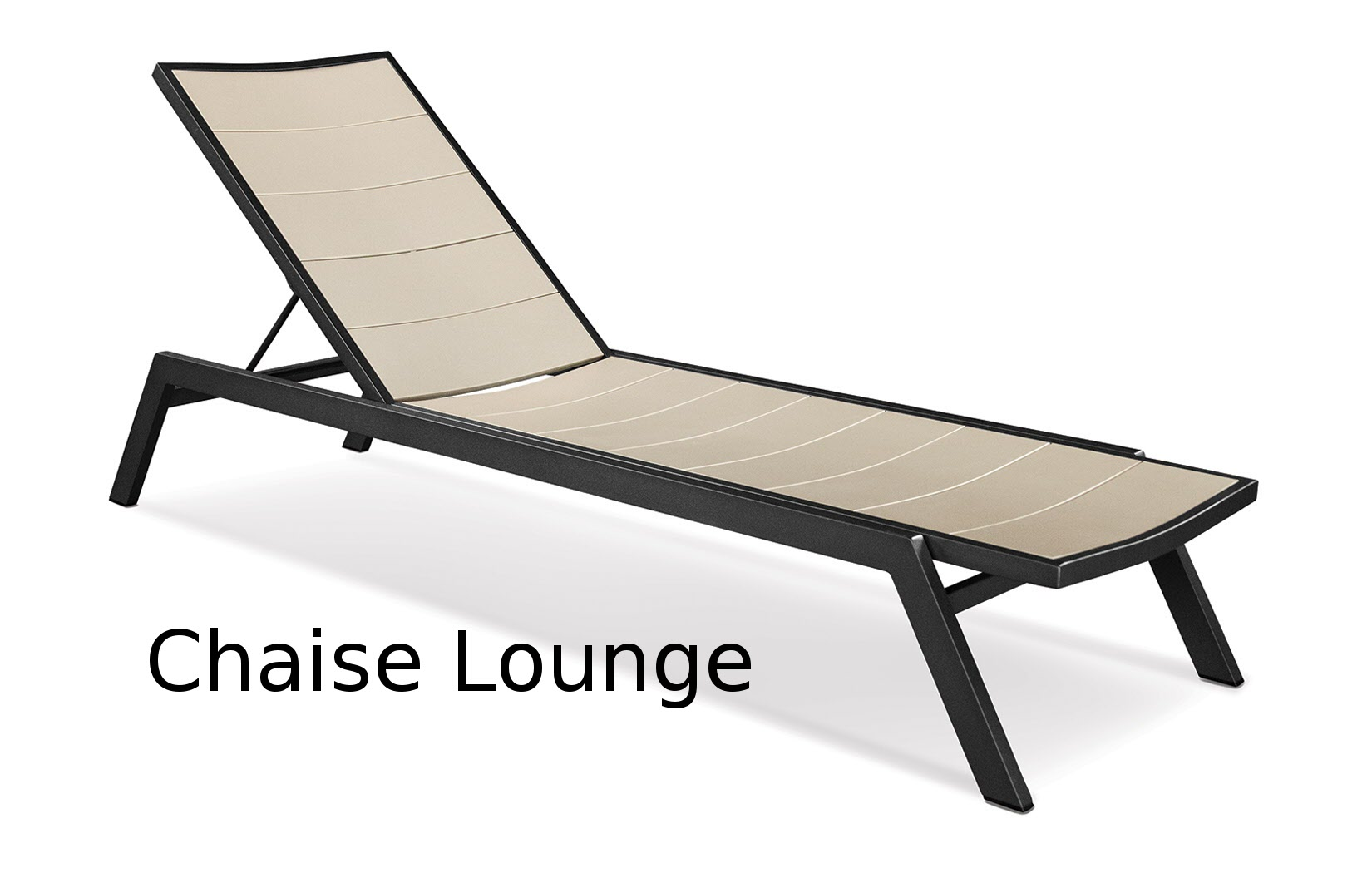 TCAC110  Fresco Collection Stacking Chaise Lounge