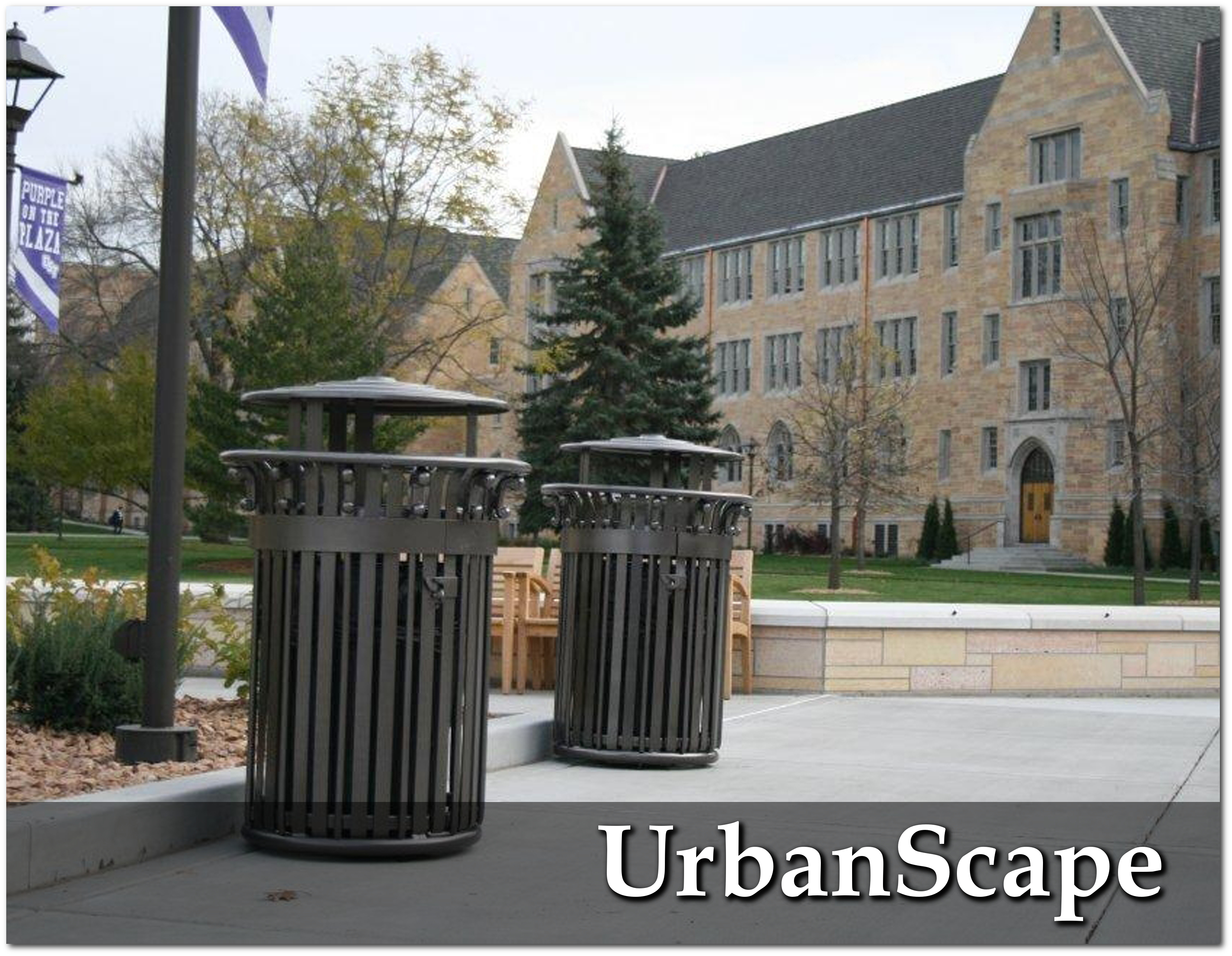 UrbanScape Trash Receptacles Overview