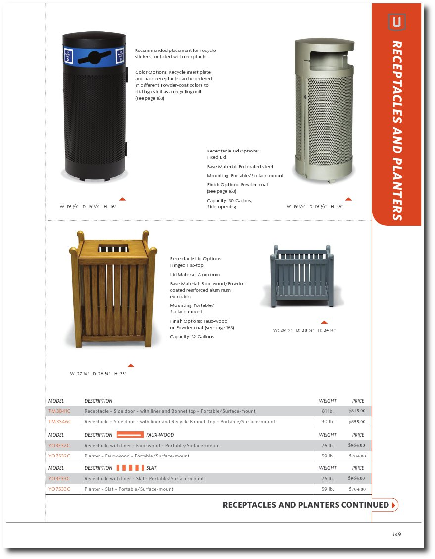 UrbanScape Collection Catalog Pages