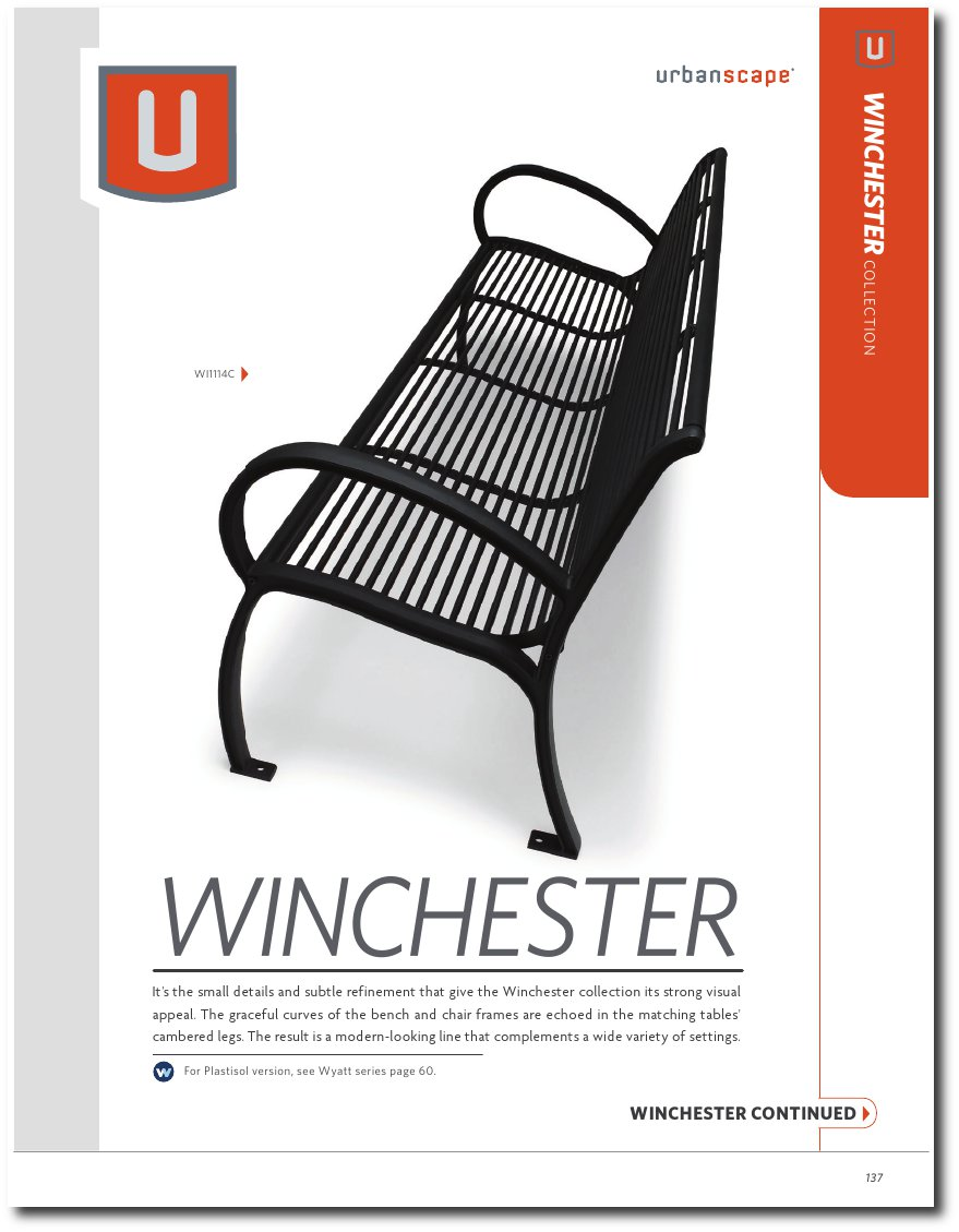 Winchester Collection Catalog Pages