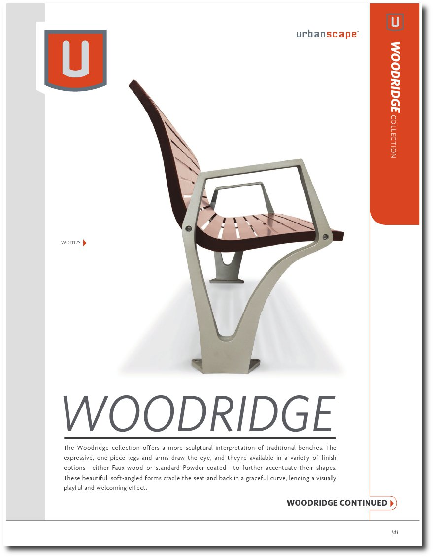 Woodridge Collection Catalog Pages