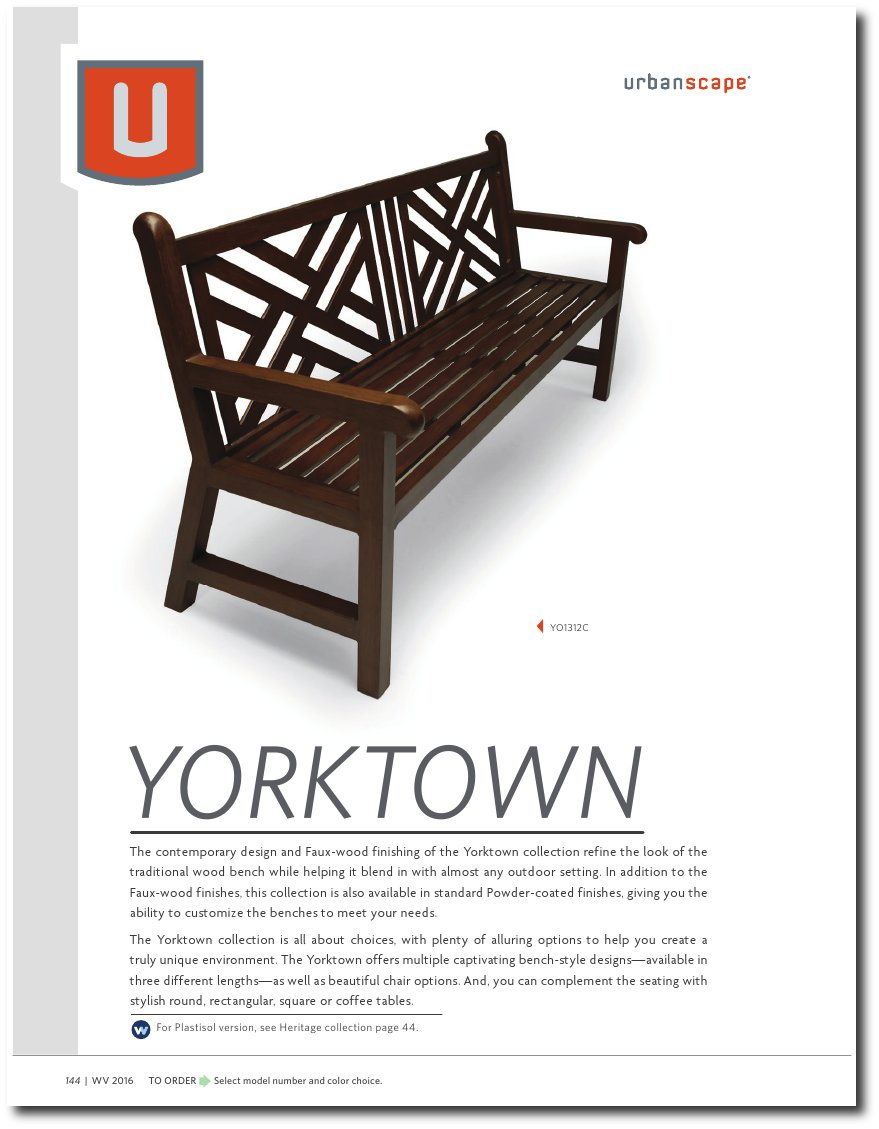 Yorktown Collection Catalog Pages
