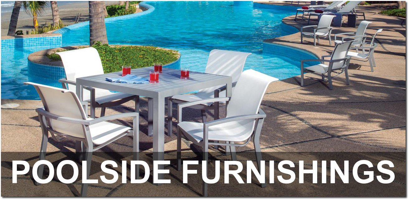 Poolside Outdoor Furnishings
