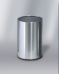 UB1900SSS  Stainless Steel Collection 5 Gallon Executive Waste Basket