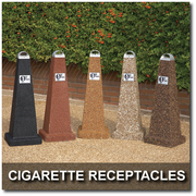 Cigarette Receptacles