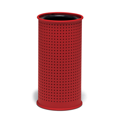 UrbanScape Style E Round Perforated Steel Ash Urn