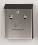 smokers station wall mounted cigarette receptacle