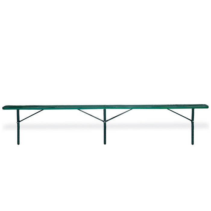 F3027 Victory 15' Expanded Steel Flat Bench (InGround Mounted)