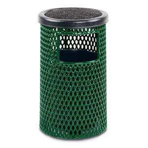 F1381  Ultra Collection 5 Gallon Ash/Trash Receptacle