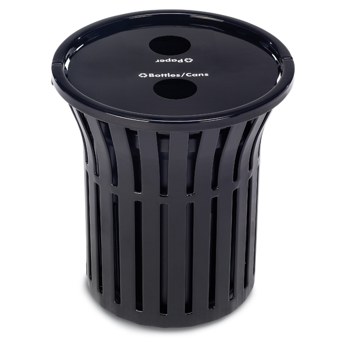 L1381  Rendezvous 32 Gallon Dual Recycling Receptacle