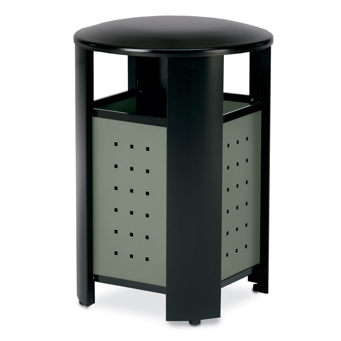 RT2000  Signature 20 Gallon Trash Receptacle with Powder Coated Panels