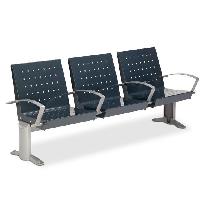 RC6000M  Signature 6' Contour Bench with Divided Seating