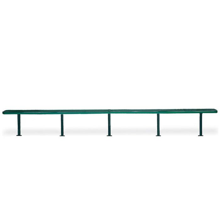 F3099 Victory 20' Expanded Steel Flat Bench (Surface Mounted)