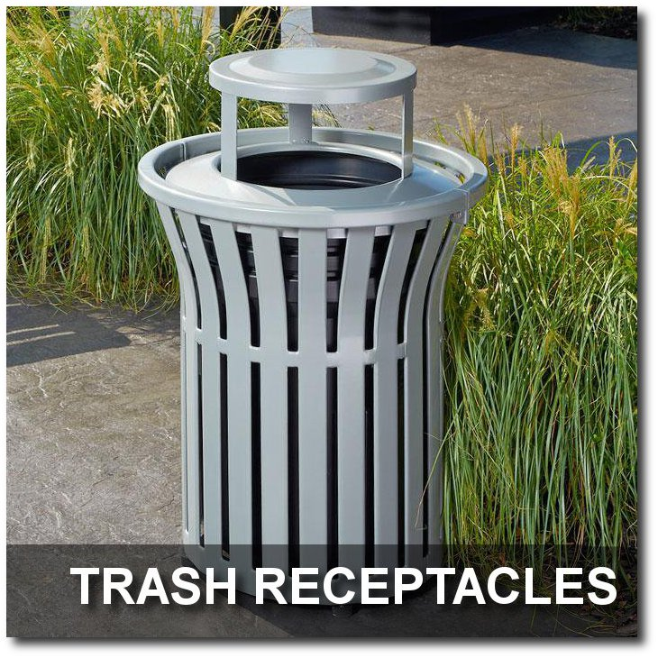 trash receptacles indoff outdoor commercial site furnishings. Black Bedroom Furniture Sets. Home Design Ideas