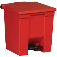 6143 Rubbermaid 8 Gallon Step-On Can