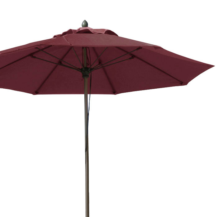 7MPU-NS 7.5' Umbrella with Pulley System (Premium Fabric)