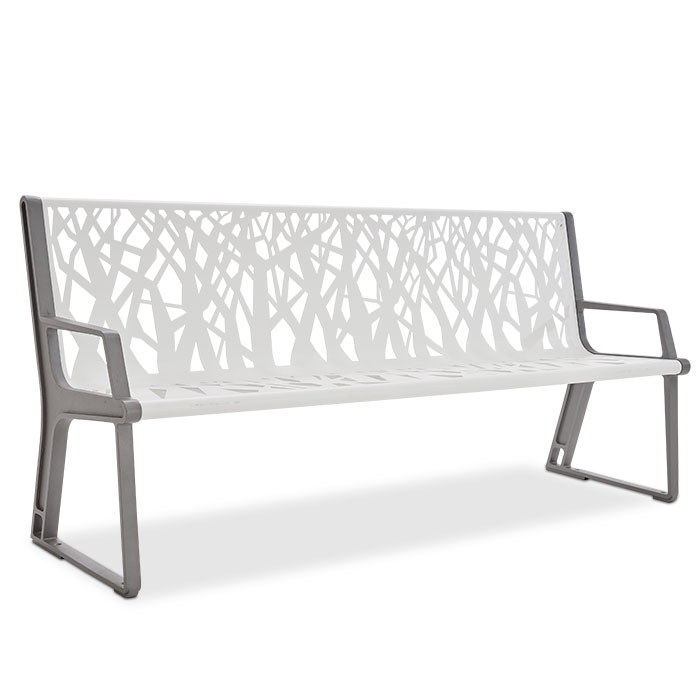 AE2680STX  Airi Collection Stix 6' Contour Bench