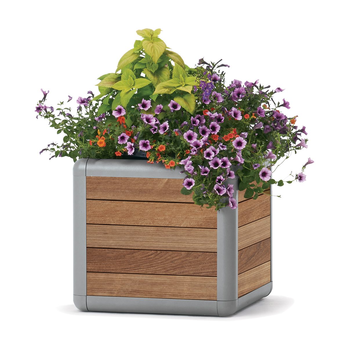 BH1825PT  Beacon Hill Collection Thermony Slat 25 Gallon Planter