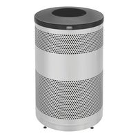 Classics Collection 55 Gallon Steel Trash Receptacle