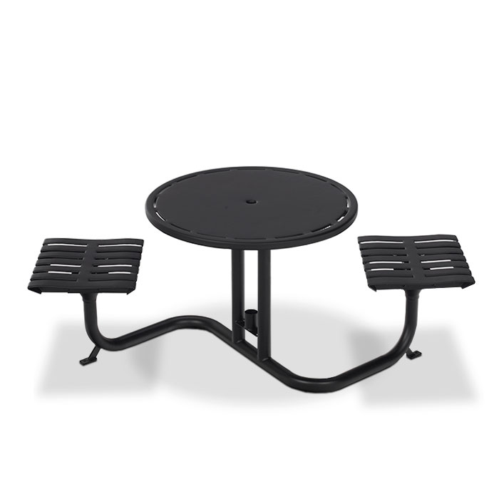 L1400  Latitude Collection Table with (2) Flat Seats