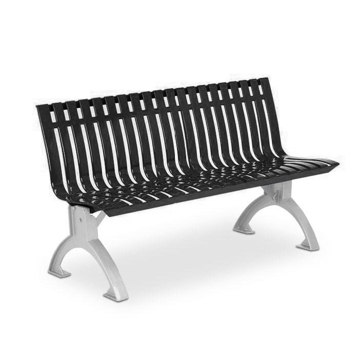 L1440  Latitude Collection 4' Contour Bench