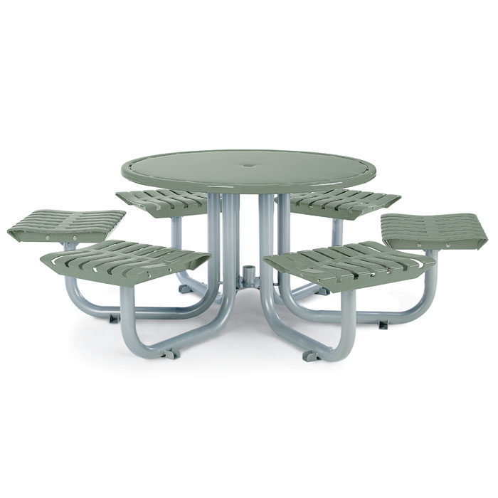 L1444  Latitude Collection Table with (6) Flat Seats