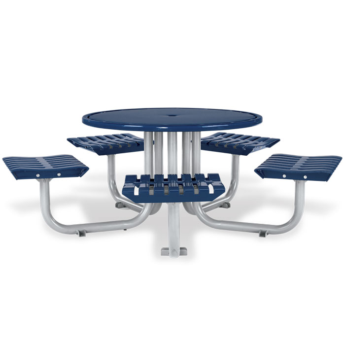 L1445  Latitude Collection Table with (5) Flat Seats