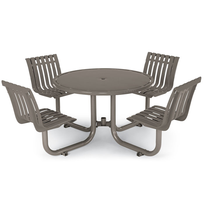 L1449  Latitude Collection Table with (4) Fixed Contour Seats