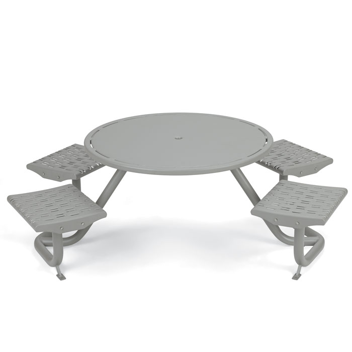 L1741  Cosmopolitan Table with (4) Fixed Flat Seats