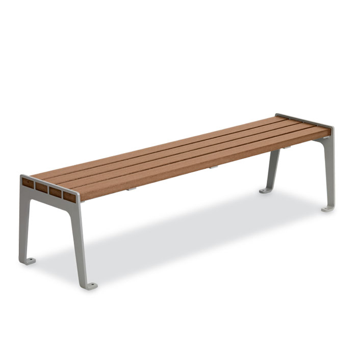 LBMF6  Madison Collection 6' Bamboo Flat Bench