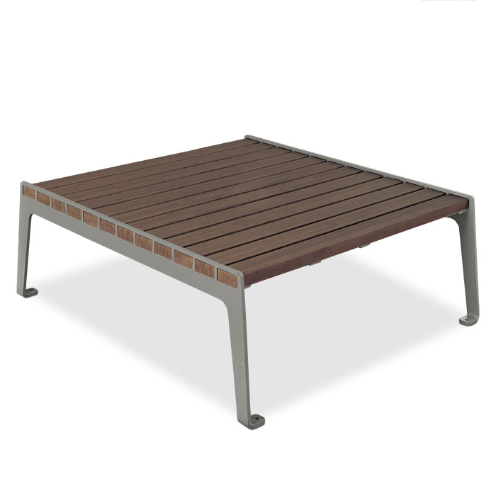 LBMT4  Madison Collection Bamboo Conversation Table