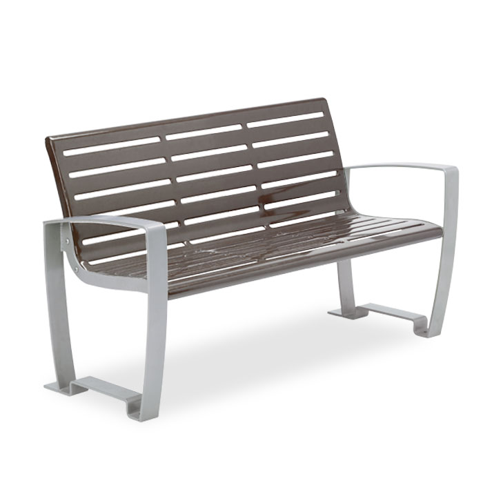 LNC4  Newcastle 4' Contour Bench