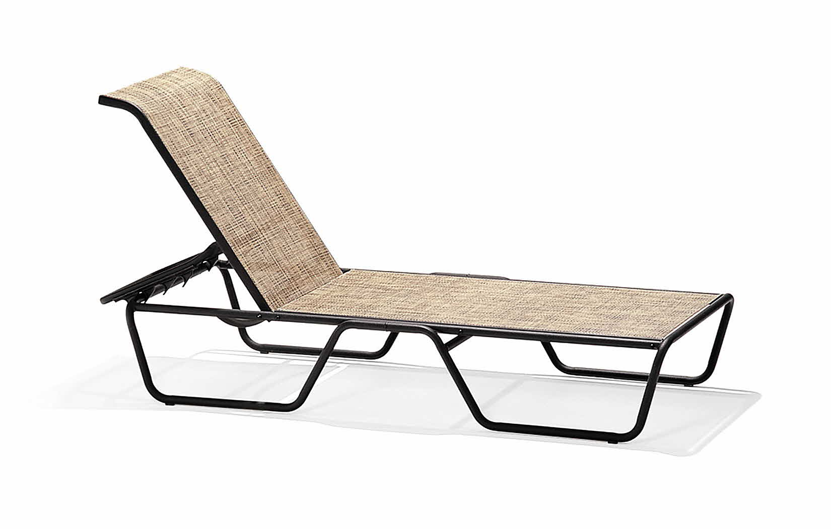 Oasis Collection Stacking Chaise Lounge Chair