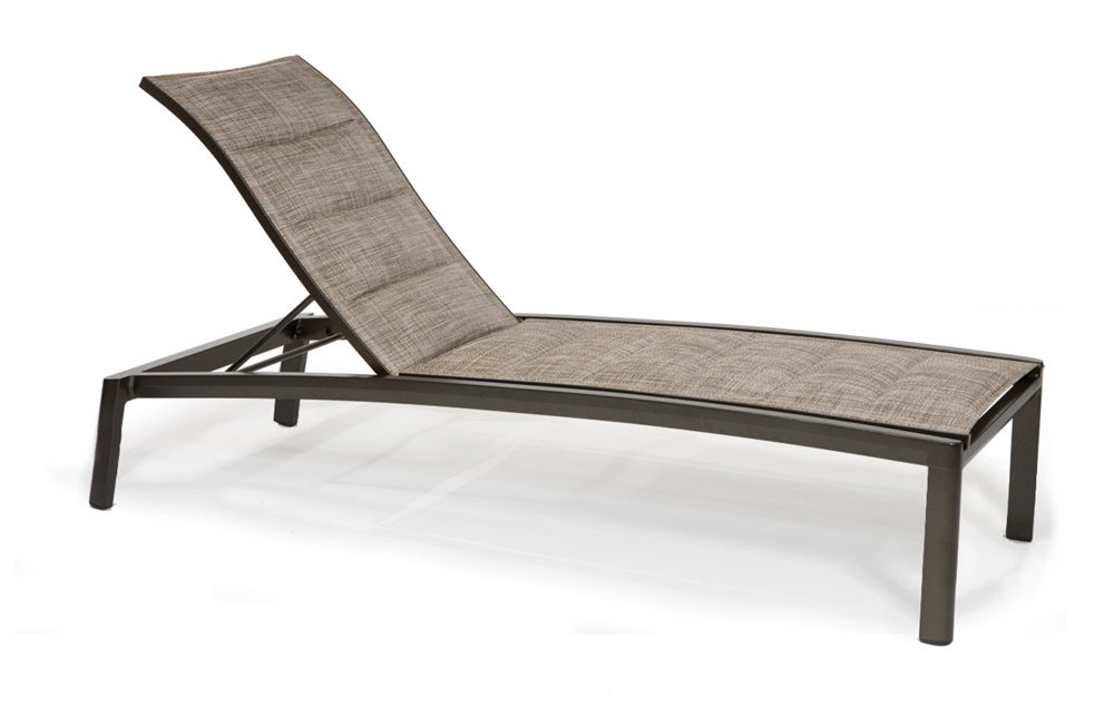 M4409HPS  Vision Padded Sling Collection Elevated Nesting Chaise Lounge