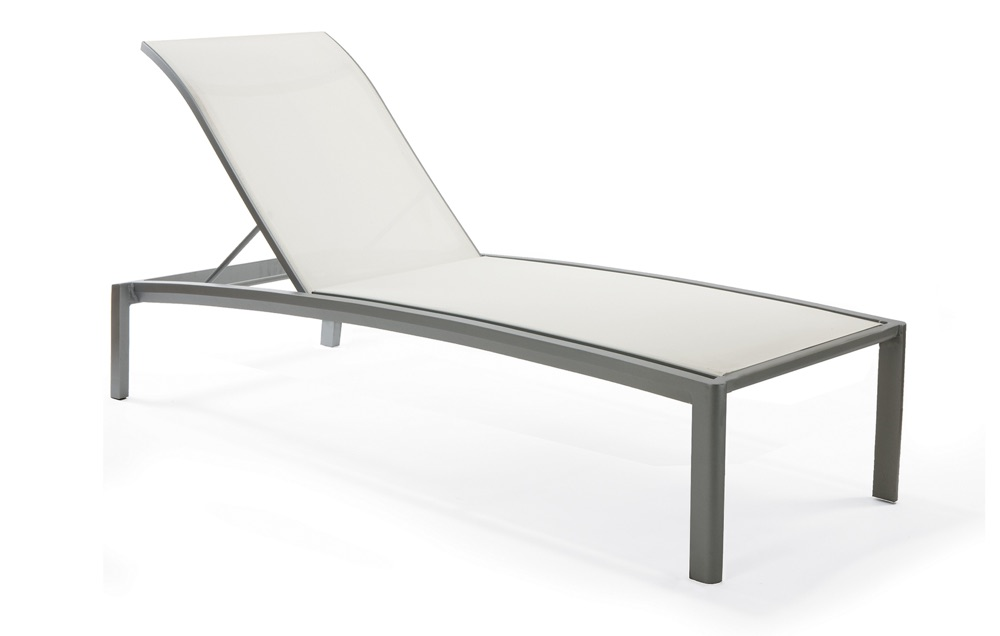 M4409HS  Vision Sling Collection Elevated Nesting Chaise Lounge
