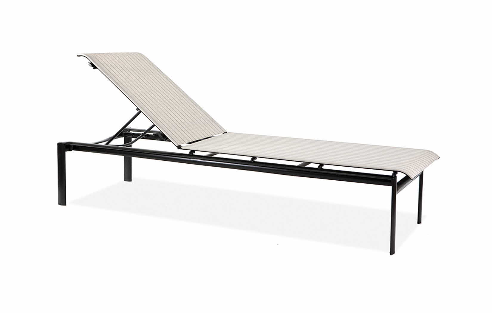 M66009  Southern Cay Sling Collection Stacking Armless Chaise Lounge