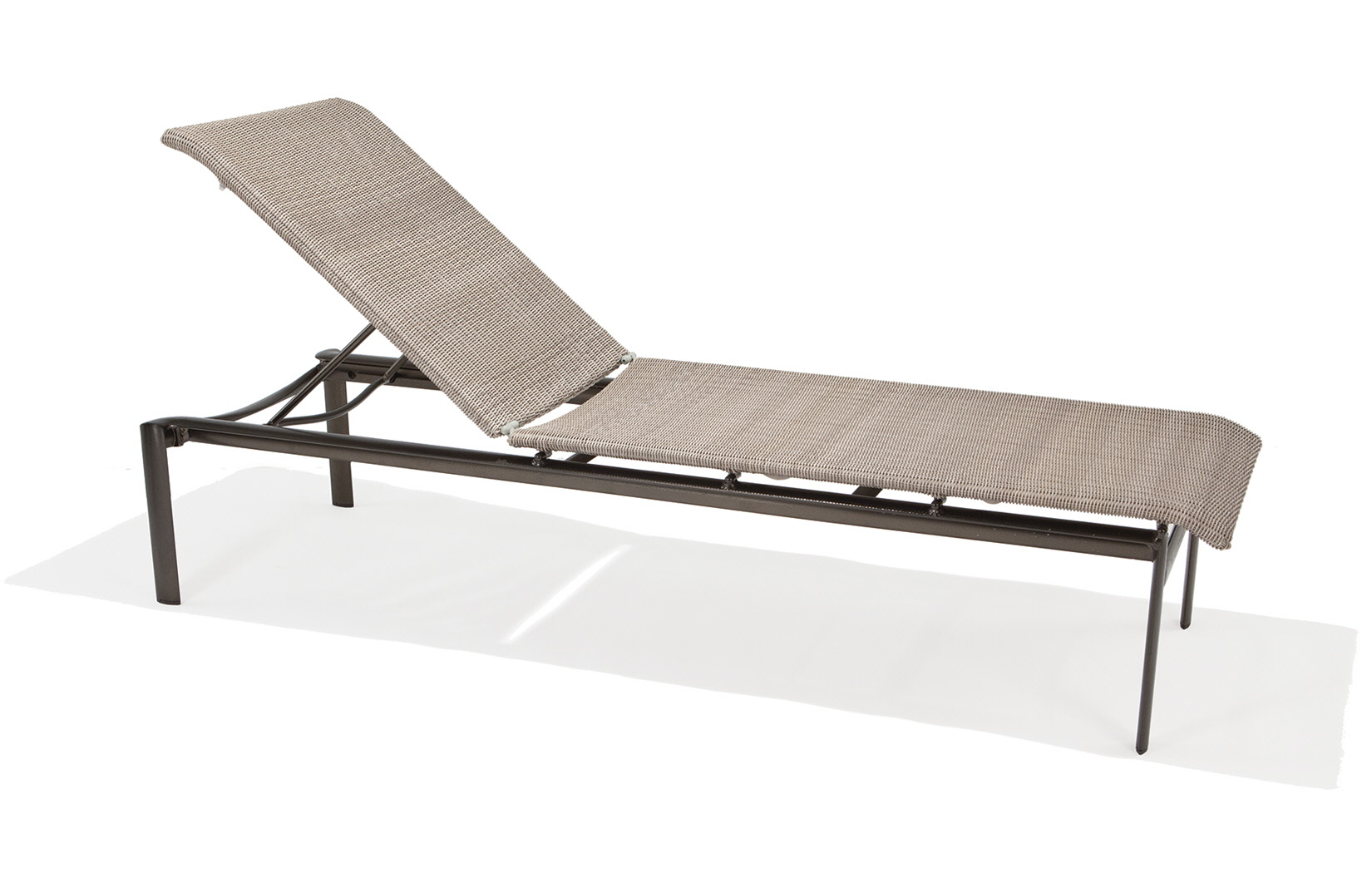 M76009  Southern Cay Woven Collection Armless Chaise Lounge