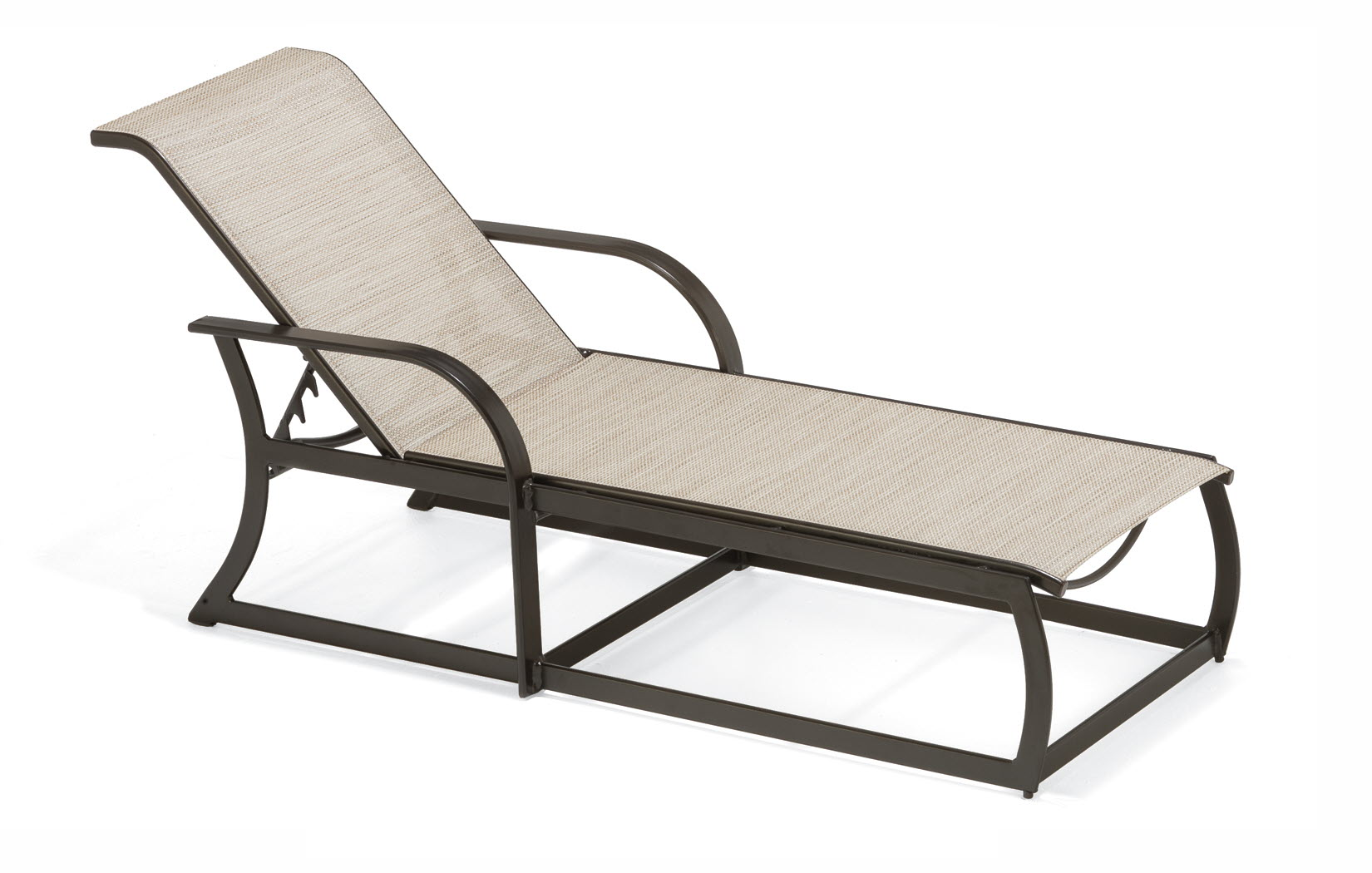 Keywest Collection Sling Chaise Lounge Chair