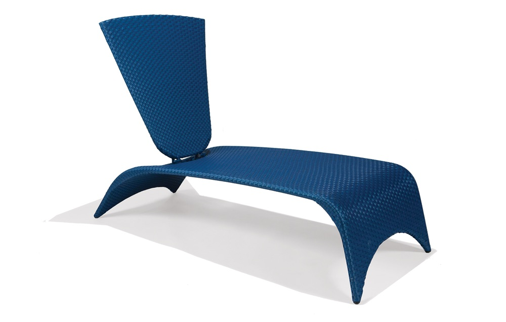 M87009  Zuma Collection Chaise Lounge with Folding Back