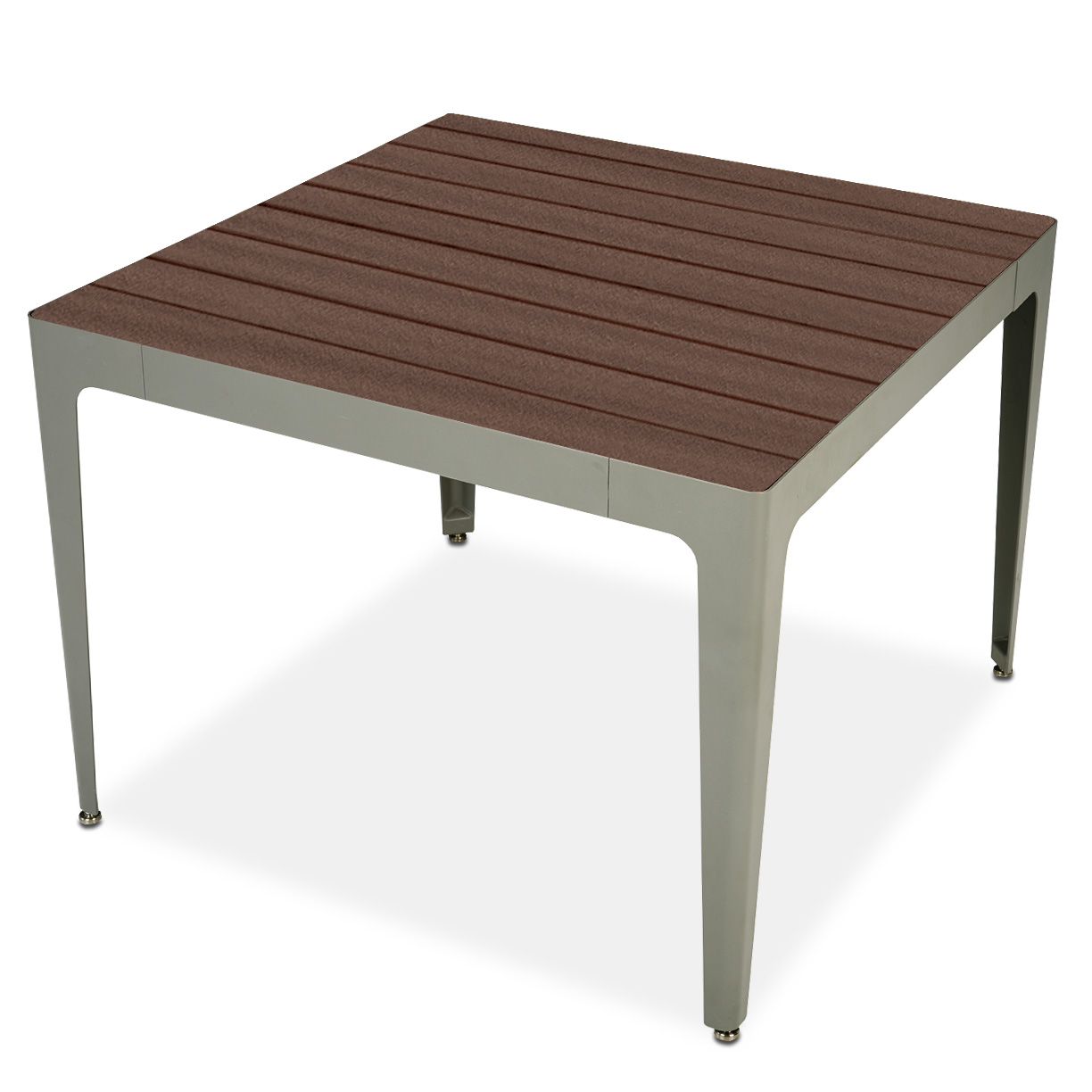 MIX2920R  Mixx Collection Square Recycled Plastic Table
